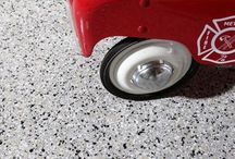 Garage Flooring / Are you looking to enhance your garage flooring? Potomac Garage Solutions has been offering a wide variety of garage flooring for residential properties throughout Maryland, Virginia, Washington DC and Florida areas since 2003.