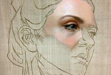 Illustration / Exploring Art form expression and Fashion