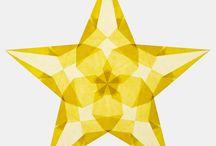 Transparent star
