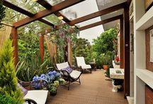 Balkon, taras, patio