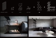 A Kombiniert Hund Bett, Beistelltisch, Und Raumteiler Wurde Für Diese Wohnung