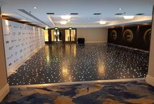Black Starlit Dance Floors / Our beautiful LED Starlit Dance Floors bring a focal point to any function room, instantly giving your event that 'wow' factor.