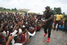 Iyanya Surprises UniAbuja Students with Appearance As MTN Football Scholars Tour Kicks Off