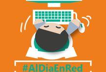 """#AlDiaEnRed / Tablero del curso """"Actualízate con la red"""" #AlDiaEnRed"""