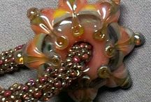 LAMPWORK ART / This board contains not only lampwork beads but how they are used in many other forms of art