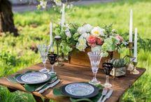 Hochzeitsdekoration / Lasst euch inspirieren von vielen schönen Dekoideen zur Hochzeit.