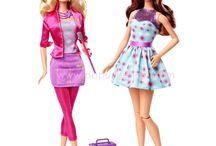 only Barbie dolls