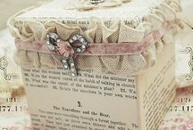 CRAFT - BAGS & BOXS & WRAPS... / SEVERAL CRAFTS... / by Lyz Freire
