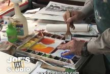 Watercolour Painting Videos