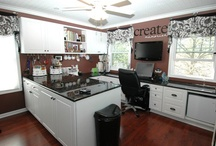 craft rooms / by Debbie Rester