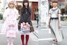 Harajuku girls / by Hello Yesterday