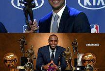 Stephen Curry and LeBron James / Hi Stephen and LeBron James
