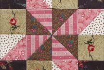 Half Square Triangle Quilts / by Martha DeHoop