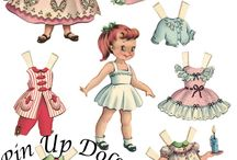 Pin Up Doll Contest / Ongoing contest on the blog