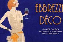 Ebbrezza  Deco': percorso multi sensoriale nell'atmosfera degli anni venti e trenta Villa Necchi 13 giugno Milano @Tibevo
