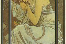 cuadros art nouveau