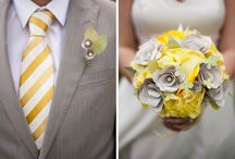 wedding 8/9 grey yellow
