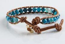 ARM013 / Herenlooks met onze agaat wrap bracelet