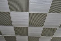 corrugated iron ceilings