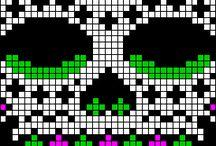 Perler Beads Skull