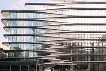 Zaha Hadid organic forms