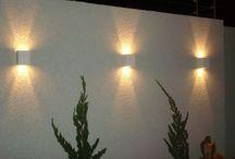iluminação muro