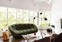 Bouroullec`s and interiors / Interieurs met de ontwerpen van Ronan en Erwin Bouroullec