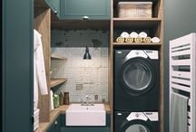 Home Design - Laundry room/Pantry