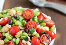 Endamame salad