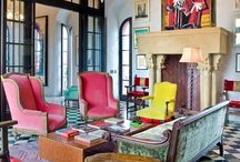 """LIVING Inspiration / """"If you love something it will work. That's the only rule."""" Interior Designer Bunny Williams"""