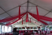 Tents for Weddings and Events by All Occasions / These Tents are available for rental at All Occasions Party Rental!
