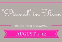 Pinned in Time Blog Hop / Special Blog hop for the Penned in Time series