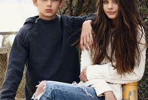 William Miller and Meika (Adam and Eva)