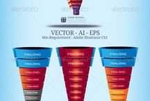 Sales Funnel / Sales Funnel Template, sales plan template, sales strategy template, sales pipeline, sales cycle