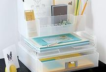 Work & Office / Cute options for office organization and decor. And of course!!! Cute oufits :D!