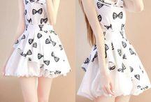 "sweet dresses / Use coupon code ""cutekawaii"" for 10% off at https://www.sanrense.com/"