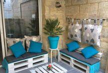 Ideér for hagemøbler/verandra! / Hagemøbler
