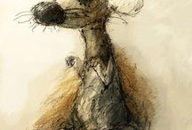 Draw_Animal / Интересные уроки, арты для рисование животтных
