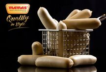 """MAMAS Products / Sausages, Salami, Ham with Special recipe for enjoying extraordinarily good sausages in  Traditional German Recipe, under our """"MAMAS Brand"""""""