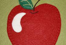 APPLIQUE FRUIT AND VEG