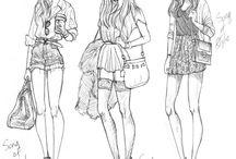 Drawings / Because. Daah.