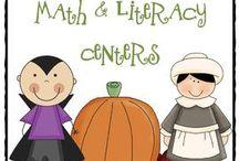 Education: Autumn/Fall Classroom