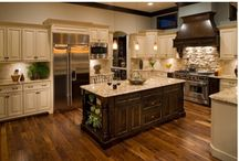 dream kitchens / i'd sleep in my kitchen if my hubby would join me...