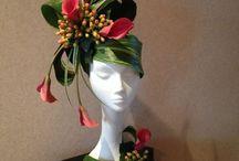 pălării florale