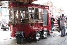 Coffee trucks / The best ideas for mobile coffee trucks
