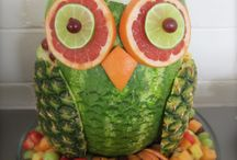 ideas frutas y dulces