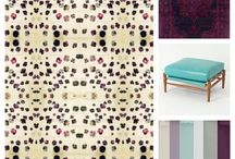 The Red Palette Wallpaper Design Boards / Palettes and rooms coordinated with luxurious wallpapers by The Red Palette   www.theredpalette.com @theredpalette on Instagram   Come find us!!