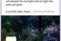 Puutarhavalo / Puutarha valot