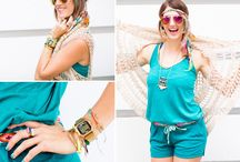 Wear It Well with Brit + Co / Maker maven and style icon Brit Morin shows us how to Wear It Well this summer with festival looks and DIYs. / by Timex