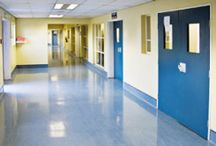 Hospital Flooring / Examples of hospital flooring.